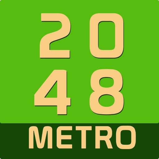 2048 Metro : Logic Tile game for Girls & Boys iOS App