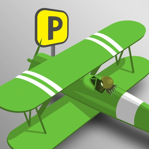 Turbo Air Plane Airport Parking Pro - new driving simulator arcade game iOS App
