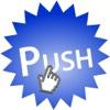 PUSH:早押しゲーム-すばやく文字をタップせよ-