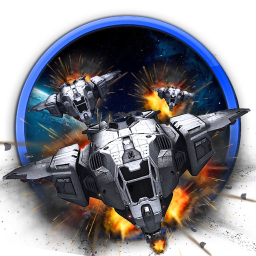 Spaceship Rivals At War iOS App