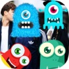 Inc Sticker Monster - Camera Stickers Game - Free Game