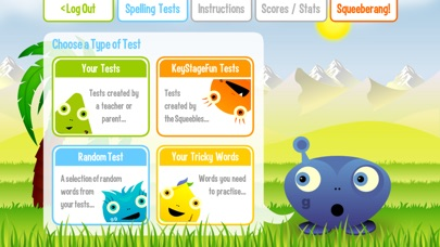 download Squeebles Spelling Test appstore review