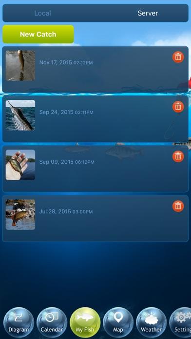 Screenshot #10 for Fishing Deluxe - Best Fishing Times Calendar