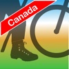 Terra Map Canada - Outdoor GPS Offline Topo Maps,  trails and tracker for Hiking,  Biking,  Camping and Travels