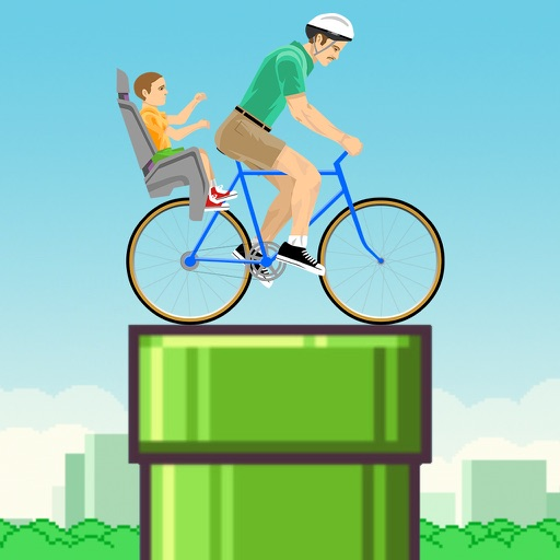 Flappy Wheels: Happy Segway ~ endless arcade flyer in sky iOS App