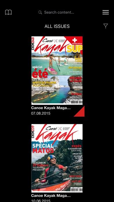 Canoe Kayak Magazine screenshot1