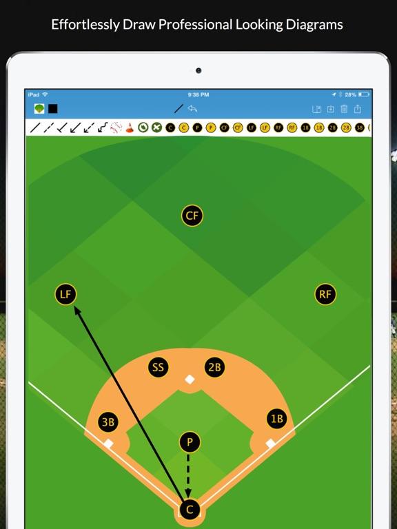 Baseball blueprint on the app store ipad screenshot 2 malvernweather Choice Image