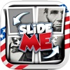 Slide Me Puzzle : U.S. Presidents Picture Characters Quiz Free Games