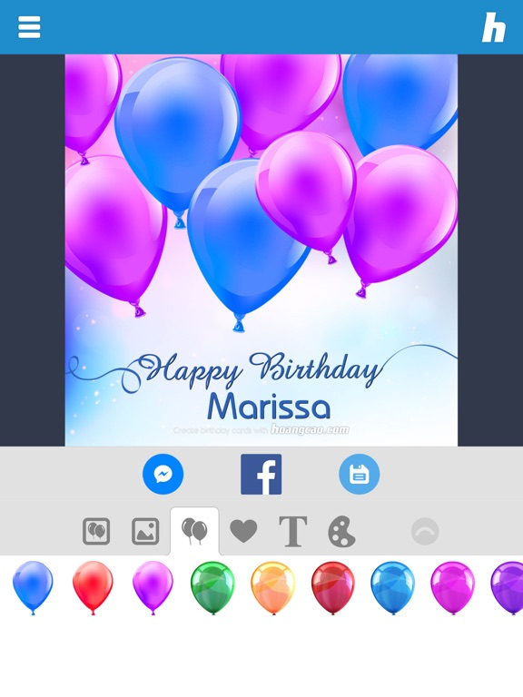 Happy Birthday Card Maker on the App Store – Birthday Cards for Ipad