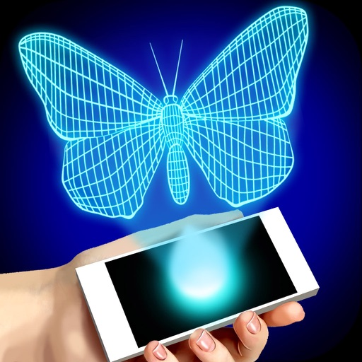 Simulator Real Hologram for iPhone