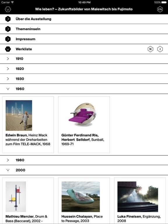 Wie leben? – Zukunftsbilder von Malewitsch bis Fujimoto Screenshot