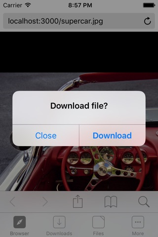 Browser and File Manager for Documents Plus screenshot 1