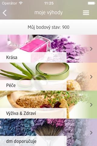 dm Česká republika screenshot 2