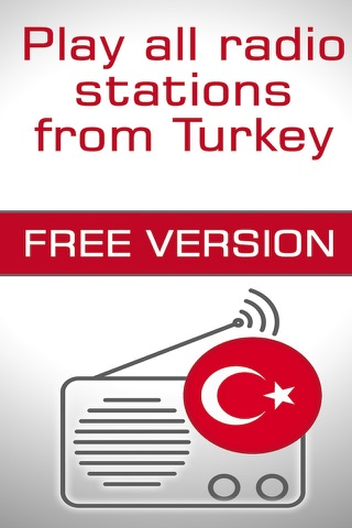 Radio Turkey - Free Turkish music from live fm radios stations ( Ucretsiz Türkiye Müzik Radyo & türk radyolar ) screenshot 1