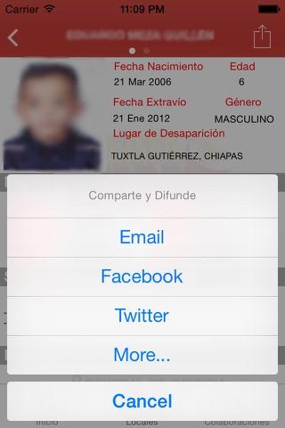 Alerta AMBER Chiapas screenshot 4