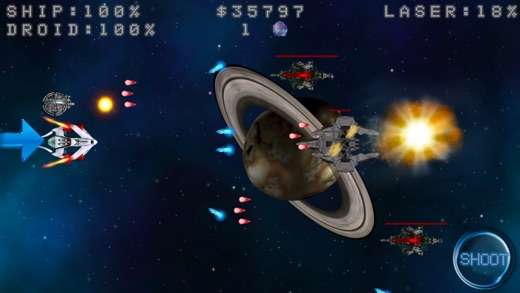 Space Shooter Ultimate Fight Screenshot