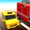 Blocky Racer: Smashy Traffic