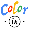 Poptacular Ltd - Colorin - The free logo coloring in book game for adults artwork