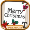 Create and design Christmas cards to wish Merry Christmas - Premium