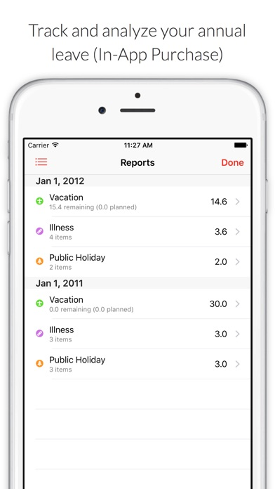 Worktimes  Time Tracking And Overtime Calculation On The App Store