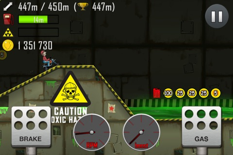 Hill Climb Racing screenshot 2