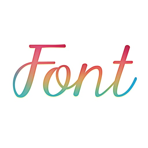 Nice Color Font Text Style For Teen iOS App