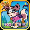 Kids Game For Paw Patrol Coloring Version