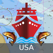 Marine Navigation - Lake Depth Maps - USA - Offline Gps Nautical Charts for Fishing, Sailing and Boating