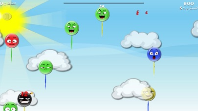 تحدي البالونات - لعبة عربية اطفاللقطة شاشة1
