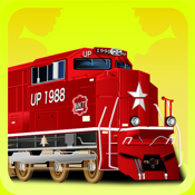 Train Games - Free Educational Jigsaw Puzzles for Kids and Preschool Toddler Learning Railway Vehicle Engine Transport and Love Locomotive Labs Power icon