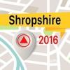Shropshire 離線地圖導航和指南