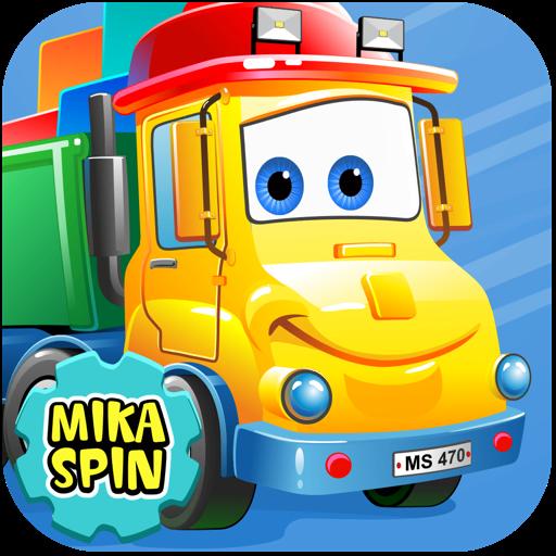 """Mika """"Dumper"""" Spin - dump truck games for kids"""