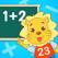 2Kids学数学 - 快乐数学,幼小衔接 - 数学,数字,加法,减法,逻辑,形状,时间,宝贝爱数学