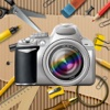 Retro Collage-Rahmen-Editor