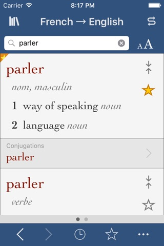 French-English Translation Dictionary and Verbs screenshot 1