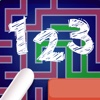 123 Logic Path Match Puzzle - PRO - Brain Training Number Line Challenge