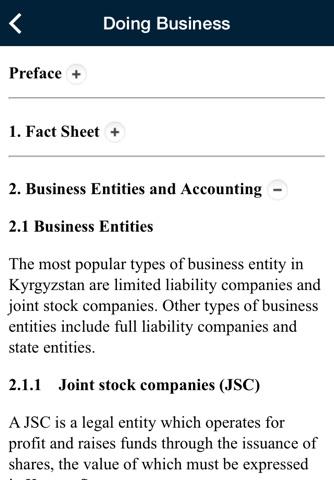 Central Asia Advisor Support App screenshot 3