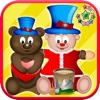 Teddy bear maker SpinArt - kids & toddlers educational game