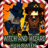 Witch and Wizard of Halloween Lucky Block