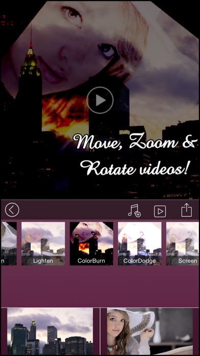 download VideoBlend : Blend or overlay videos to make beautiful video effects apps 3