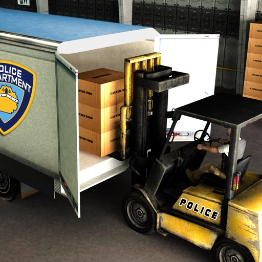 City Police Officer Truck Driver on Prison Transport iOS App