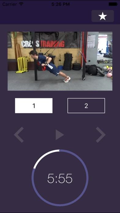 7 мин Trx тренировка:  Тренинг видео упражнение программа для упражнений и подвеска упражнения обучение тренировкиСкриншоты 4