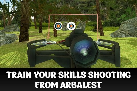 Crossbow Shooting Championship 3D Full screenshot 1
