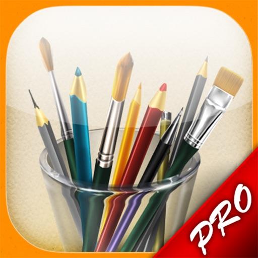 我的画笔专业版MyBrushes Pro – 无限制画布大小的画板, 支持中国画,油画,水彩画,书法艺术
