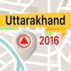 Uttarakhand 離線地圖導航和指南