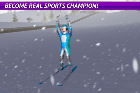 Ski Jumping Freestyle 3D Full screenshot 4