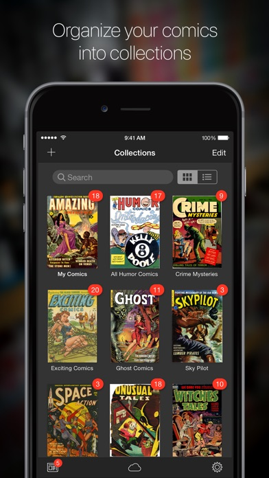iComics - Digital Comic Reader Screenshots