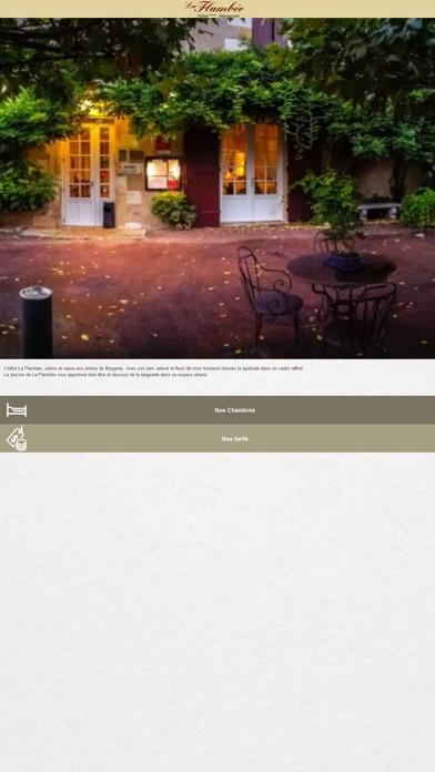 Capture d'écran de Hôtel Restaurant La Flambée1