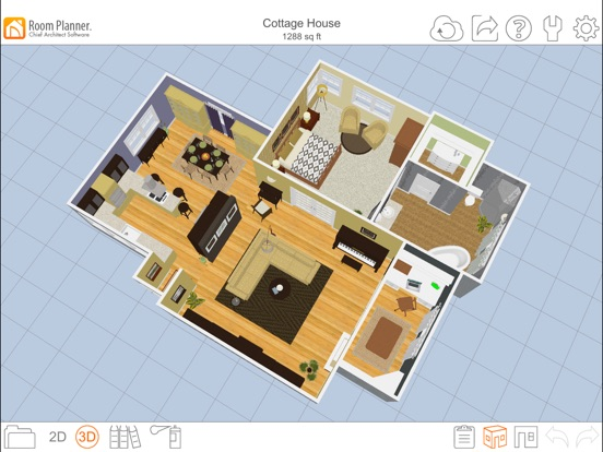 iPad Screenshot 3. Room Planner Home Design on the App Store