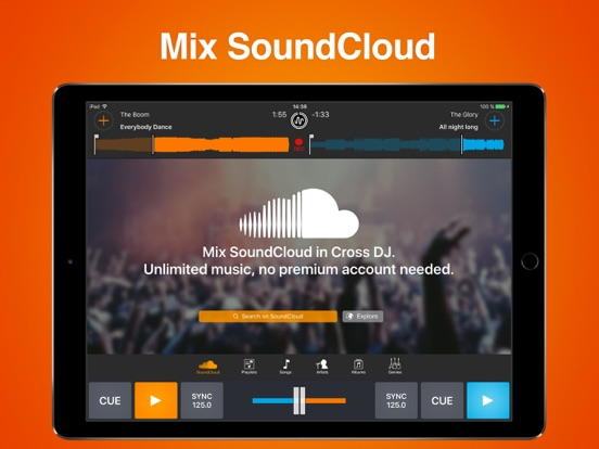 Screenshots of Cross DJ Pro - Mix your music for iPad